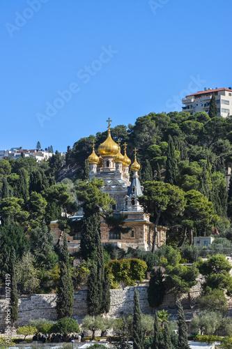 Fotografia Church of St. Mary Magdalene in Gethsemane.