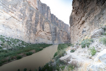 The Rio Grande River Cuts A Ca...