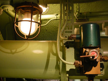 Interior And Lamp Of A Submarine