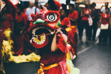 Lion Dance During Chinese New ...
