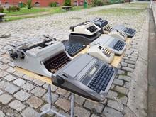 Nostalgia, Old Typewriters And Old Calculators. Manaus, Amazon – Brazil