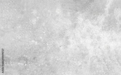 Cuadros en Lienzo  Old wall texture cement dirty gray with black  background abstract grey and silver color design are light with white background