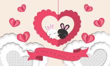 Kawaii Design Of Valentines, C...