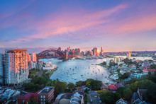 Sydney Harbour Bridge, Panoram...