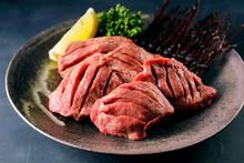 厚切り牛タン Thick-cut Gyutan (Sliced Beef Tongue)