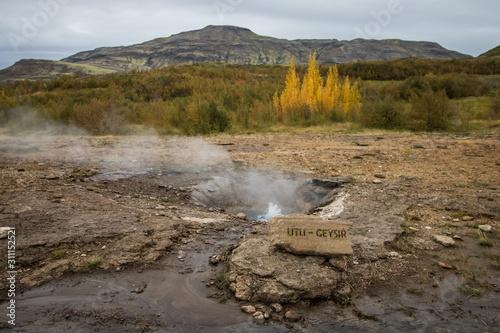 Valokuva geyser iceland