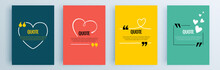 Quote Frames Blank Templates S...