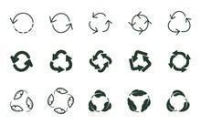 Reuse Zero Waste Icon. Recycle...