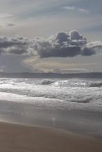Clouds Over Marina State Beach In Monterey Peninsula California