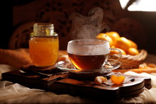 Tea With Tangerine Confiture O...