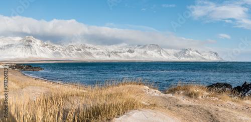 Panorama, krajobraz górski