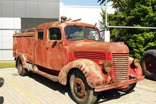 Old Rusty Truck / Old Fire Tru...