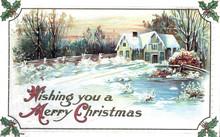 Vintage Postcard, Antique Gree...
