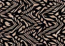 Abstract Geometric Shapes Pattern