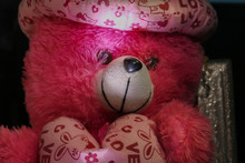 Smiley Pink Doll And Heart