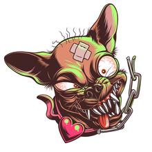 Mad Funny Chihuahua