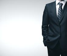 Businessman In Black Suit