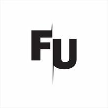 FU Logo Letters White Background