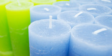 Aromatic Colorful Candles In A...
