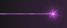 Purple Laser Beam Light Effect...