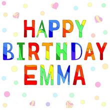 Happy Birthday Emma - Funny Ca...