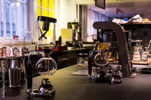 Siphon Coffee Maker Fototapet