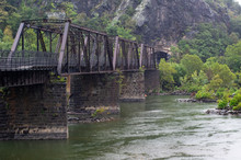 Iron Trestle Railroad Bridge A...