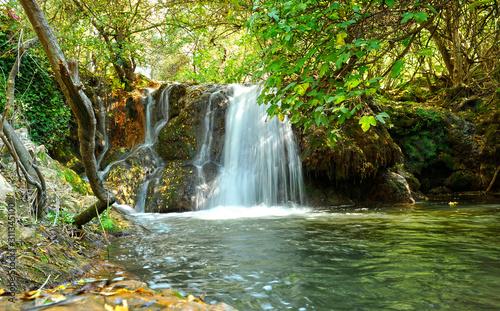 wodospady-hueznar-w-parku