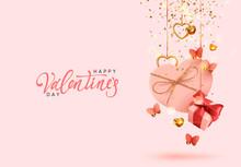 Valentine's Day. Background Wi...
