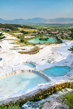 Travertine Pools And Terraces ...