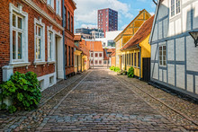 Colored Traditional Houses In ...