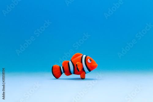 Obraz na plátně fish in the sea