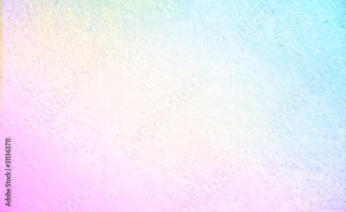 ざらざらした背景とピンクから青のグラデーション Wallpaper Mural