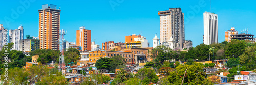 Photo Skyscrapers and city buildings, Asuncion, Paraguay