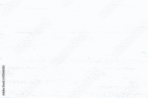 Fototapety, obrazy: White wood plank texture vector background.