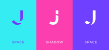 Set Of Letter J Minimal Logo I...