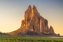 Shiprock, New Mexico, USA At The Shiprock