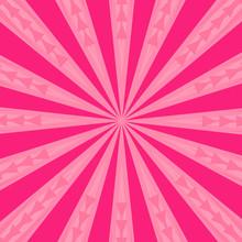 Pink Burst Abstract Background Pattern Vector Illustration Graphic Design