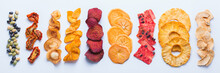 Dried Fruits And Vegetables, Dehydrated Chips