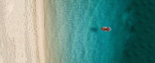 Aerial Drone Photo Of Tropical...