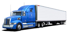 Western Star Truck With Blue C...