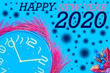 Feliz Año Nuevo 2020, Fondo A...