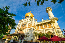 Sultan Mosque, Masjid Sultan, In Historical Kampong Glam, The Focal Point For Singapore's Muslim Community
