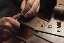 Jewelry Craftsmanship. Handmad...