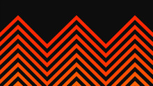 Abstract Background With Orange Gradient Stripes On Grey Surface