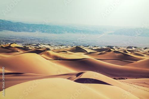 Photo Sand dunes in California