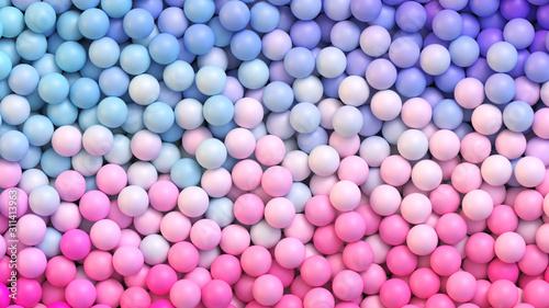 Fotografia Colorful balls background