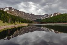 Reflection Lake At Rocky Mountain National Park