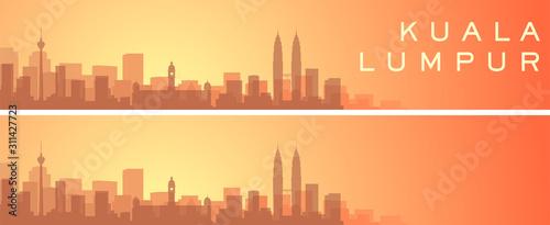 Photo  Kuala Lumpur Beautiful Skyline Scenery Banner