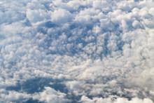 Frame Of Cumulus Clouds Swirli...